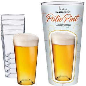 Patioware Patio Pint Mega Gift Tube - 6 Pack