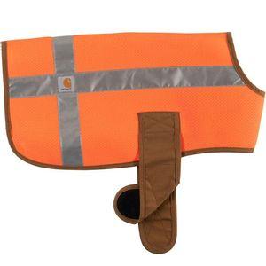 Carhartt Dog Safety Vest - Orange/Brown