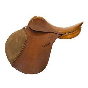"""Used Tan A/P Saddle 16"""""""