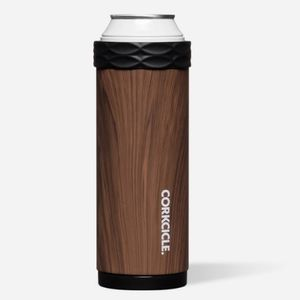 Corkcicle Arctican Slim 12oz - Walnut Wood