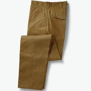 Filson Men's Oil Finish Single Tin Cloth Pants - Dark Tan