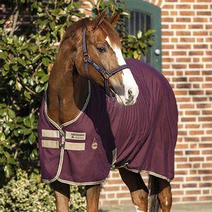 Amigo Pony Stable Sheet - Fig/Navy/Tan