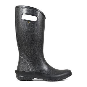 BOGS Women's Rainboot- Black Glitter