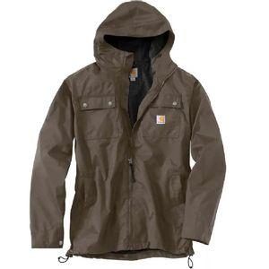 Carhartt Men's Rain Defender Relaxed Fit Jacket - Tarmac