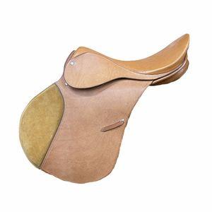 """Used Saddle Tan A/p 17"""""""