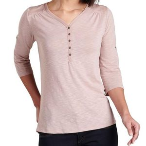 Kuhl Women's Shasta 3/4 Sleeve Top - Pale Pink