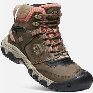 Keen Women's Ridge Flex Waterproof Boots - Timberwolf/Brick Dust