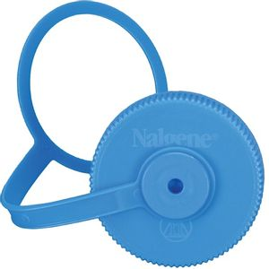 Nalgene Wide Mouth 32oz Replacement Cap with Loop - Blue
