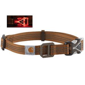 Carhartt Lighted Dog Collar - Carhartt Brown