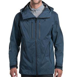 Kuhl Men's Deflektr Hybrid Rain Jacket - Pirate Blue