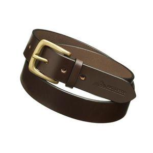 Pampeano Plain Leather Belt- Papa (Brown)