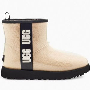 Ugg Women's Classic Clear Mini  Boots - Natural