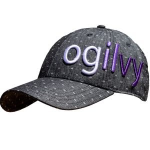 Ogilvy Equestrian Hat- Grey Dot/Purple