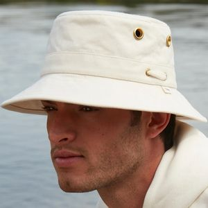 Tilley The Iconic T1 Bucket Hat - Natural