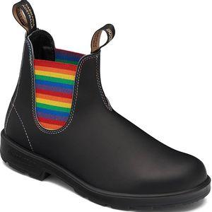 Blundstone 2105 - Original Black w Rainbow Elastic
