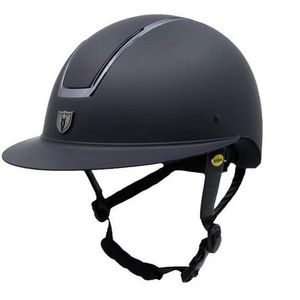 Tipperary Windsor with MIPS Wide Brim - Matte Black Shell, Smoked Chrome Trim, Matte Black Top