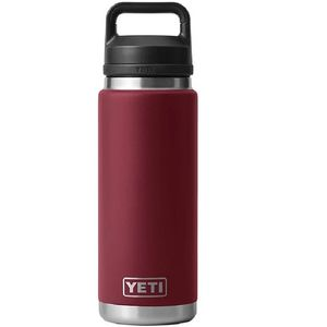 Yeti Rambler 26oz Bottle with Chug Cap - Harvest Red