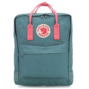 Fjallraven Kanken Backpack - Frost Green/Peach Pink