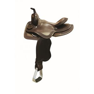 Country Legend Little Tyke Saddle - Brown