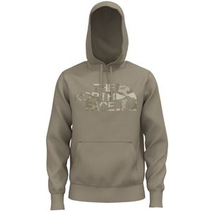 The North Face Men's Half Dome Pullover  - Flax/Kelp Tan Brushwood Camo Print