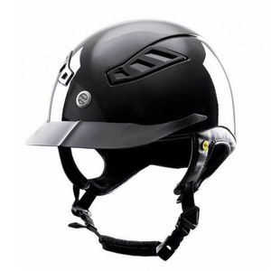 Back On Track Lynx MIPS EQ3 Riding Helmet - Glossy