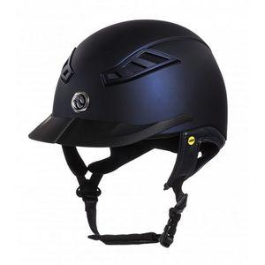 Back On Track Lynx MIPS EQ3 Riding Helmet - Navy