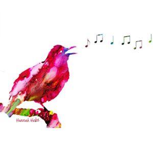 Hannah Hicks Art Cards - Bird Singing