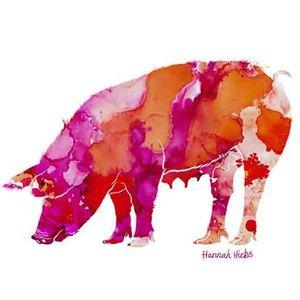 Hannah Hicks Pig