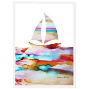 Hannah Hicks Art Cards - Sailboat