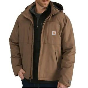Carhartt Men's Full Swing Loose Fit Quick Duck Insulation Jacket - Canyon Brown